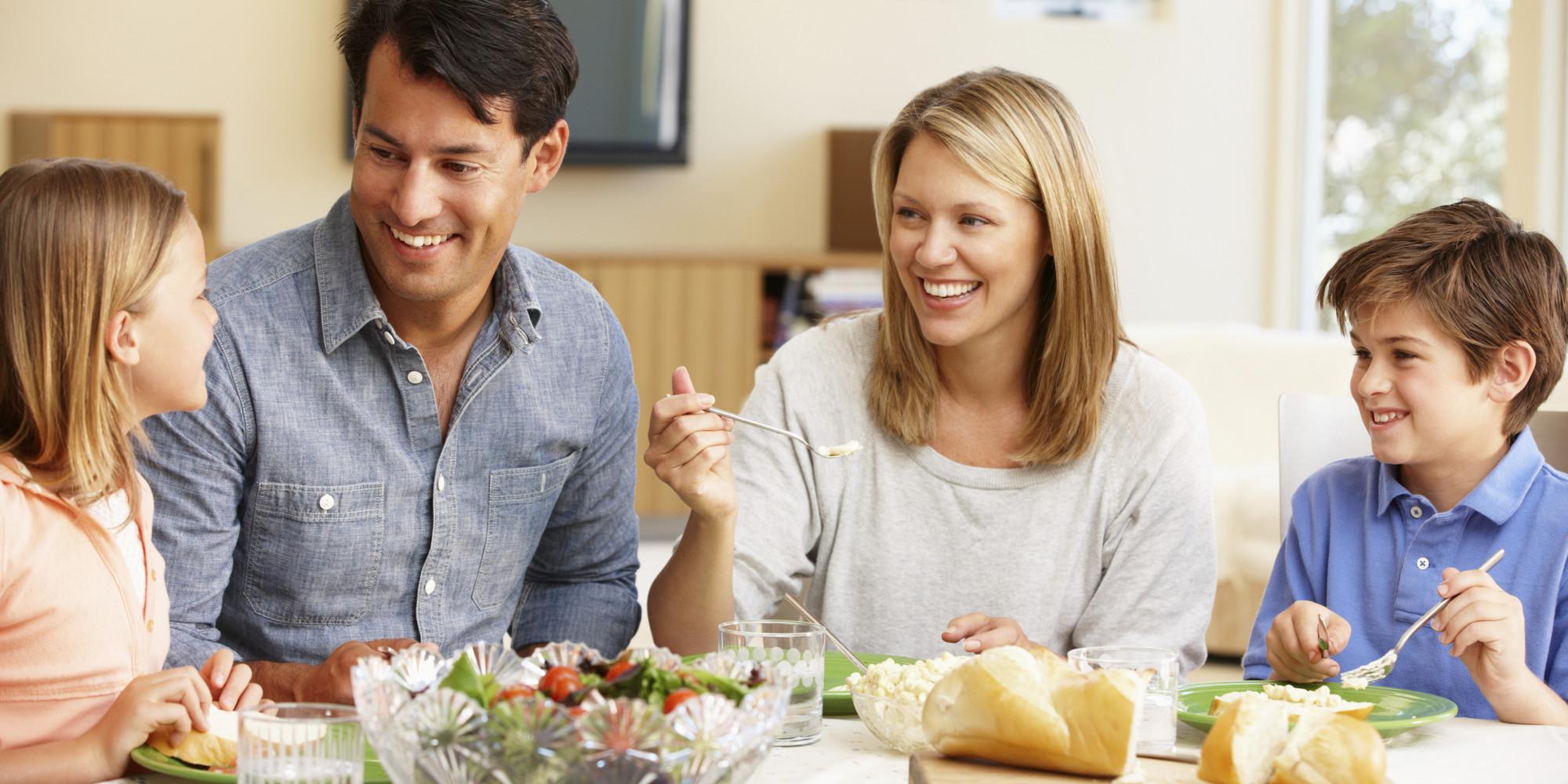 Les repas en pleine conscience pour toute la famille for Idee repas convivial en famille